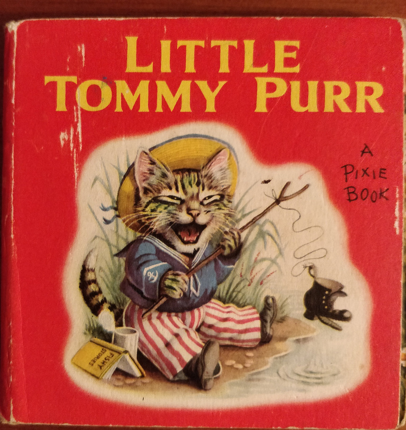 Little Tommy Purr Front Cover