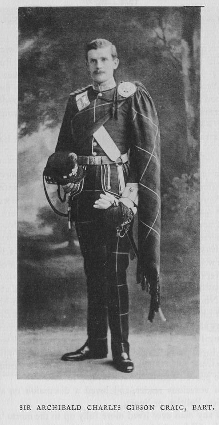 UK Photo And Social History Archive: Harrow Memorials Of The Great War  1914-1918 Vol 1 Portraits &emdash; Gibson-Craig A C Lt Sir Highland Light Infantry