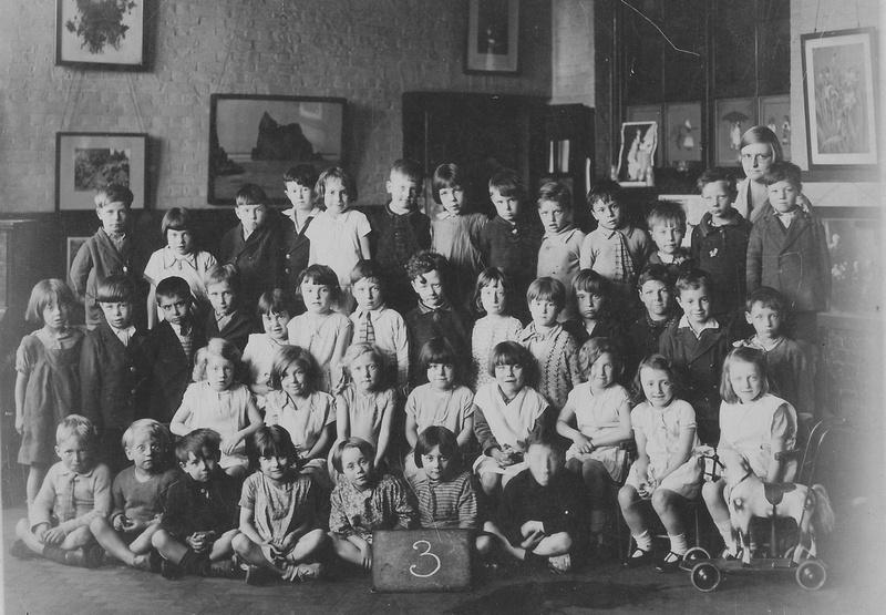 School Photo Farncombe Street School, Southwark 19th June 1931