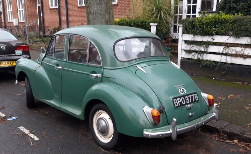 1964 Morris Minor 1000 4 Door Saloon BPO 377B