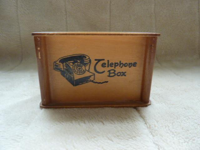 1960s Telephone Money Box