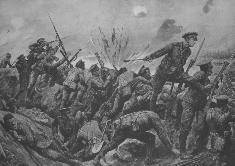 2nd Lt G H Woolley Winning His VC At Hill 60