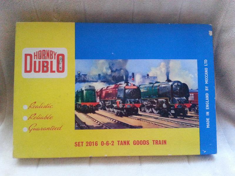 Hornby Dublo Set 2016 0-6-2 Goods Train Set