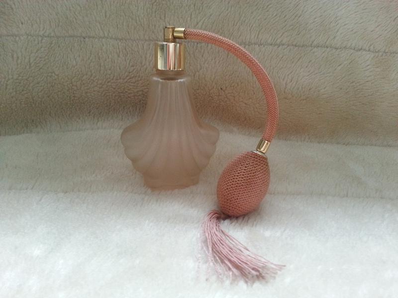 Vintage Glass Perfume Atomiser