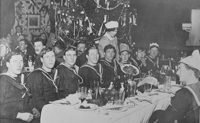 Christmas With The Royal Navy In Scotland 1915
