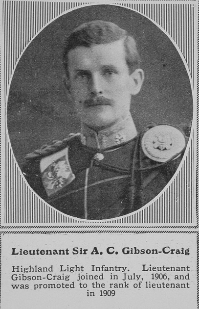 UK Photo And Social History Archive: G &emdash; Gibson-Craig A C Lt Sir Highland Light Infantry The Sphere 10th Oct 1914
