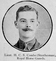 Combe H C S Lt Royal Horse Guards Ross-Shire Roll Of Honour