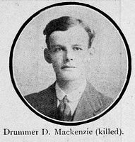 Mackenzie D Drummer Seaforth Highlanders Ross-Shire Roll Of Honour