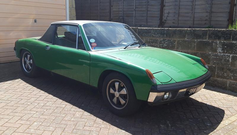 1970 Porsche 914 914 VWP Side