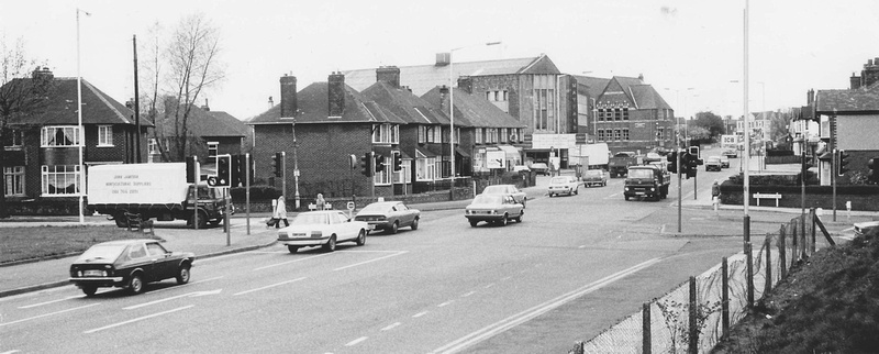 Bury Old Road Prestwich 1970s