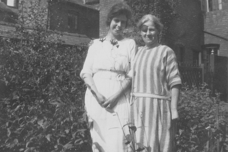 Two Women In The 1930s One Wearing An Eye Patch