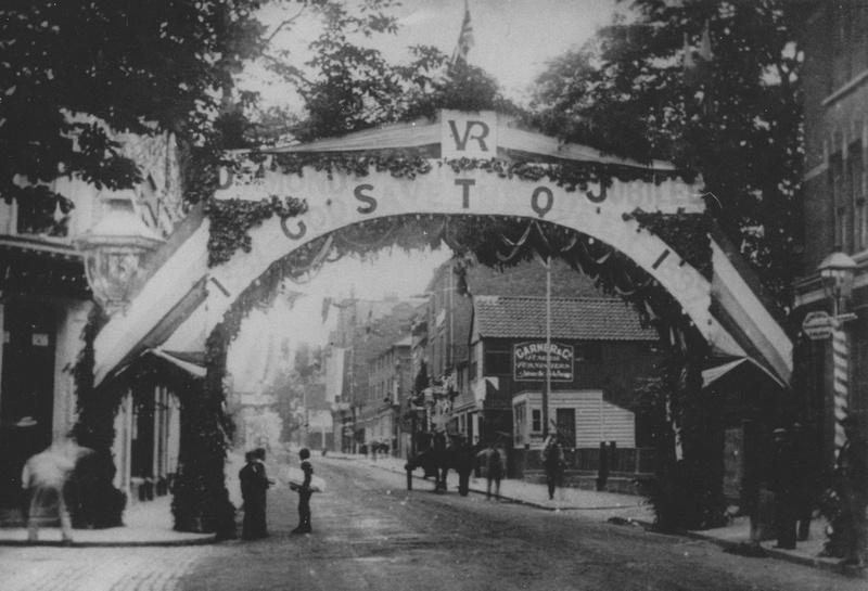 Queen Victoria's Diamond Jubilee Celebrations Sutton High Street Surrey 1897