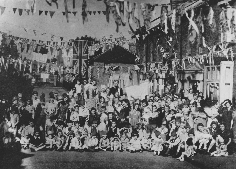 VE Day Party Beulah Road Sutton 1945