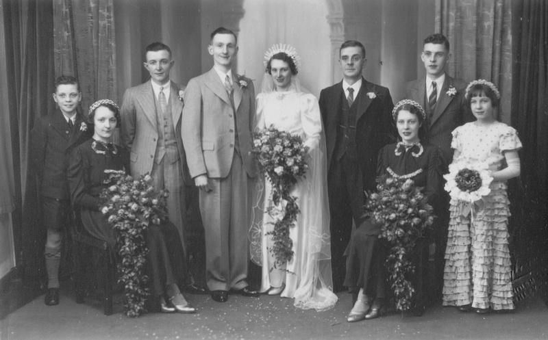 A 1940s Wedding Group