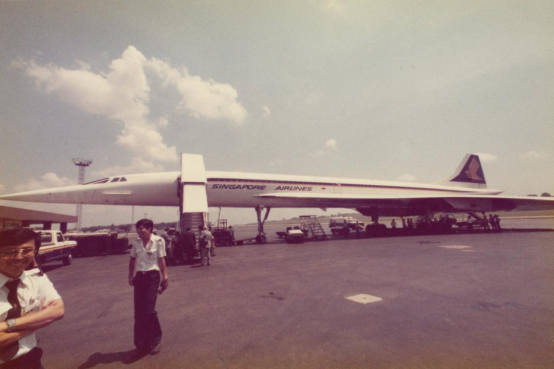 Singapore Airlines Concorde 1980 Photo No 2