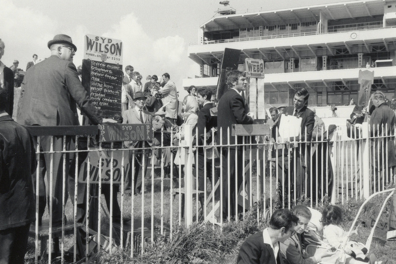 Bookmakers At Epsom Derby 1960s