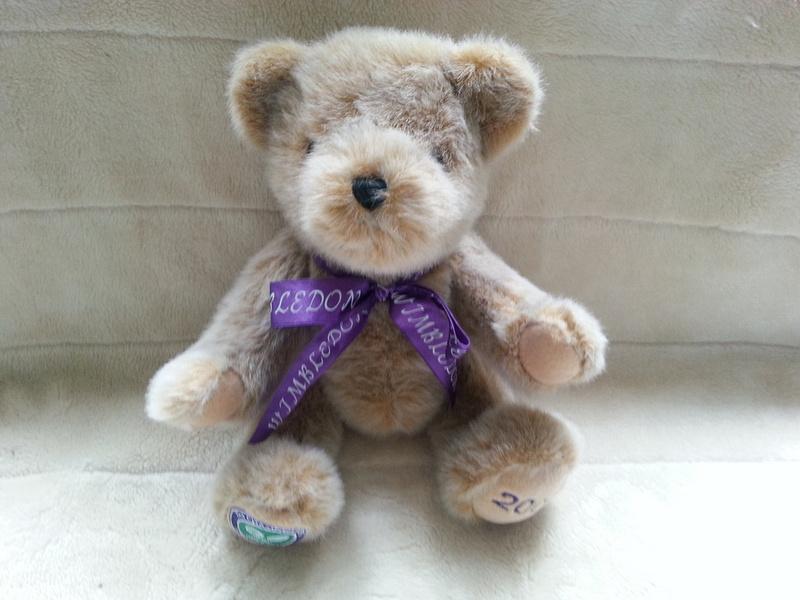 Wimbledon Tennis Championships 2001 Jointed Teddy Bear