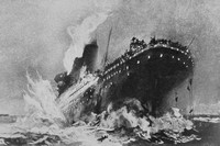 The Sinking Of The Titanic April 1912