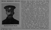 Read H F Rfn 3rd Rifle Brigade Obit De Ruvignys Roll Of Honour Vol 3