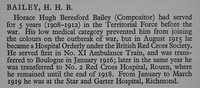 Bailey H H B Hospital Orderly British Red Cross War Record Of Cambridge University Press