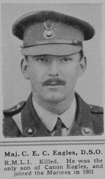 UK Photo Archive: E &emdash; Eagles C E C Major DSO RMLI The Sphere 11th May 1918