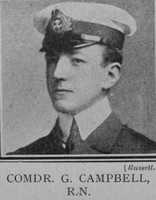Campbell G Comdr VC RN The Great War Vol 10