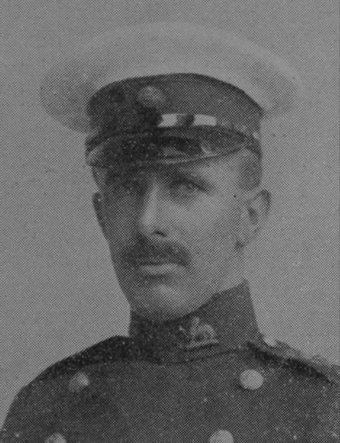 UK Photo Archive: B &emdash; Birt L H Captain DSO R Berks Regt The Sphere 23rd Jan 1915