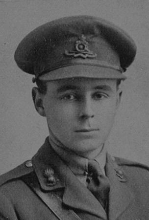 UK Photo Archive: Dulwich College War Record 1914-1919 &emdash; Shand J J F 2nd Lt Royal Garrison Artillery Dulwich College Roll Of Honour