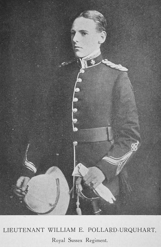 UK Photo Archive: British Roll Of Honour Vol 2 &emdash; Pollard-Urquhart W E Lt Royal Sussex Regiment