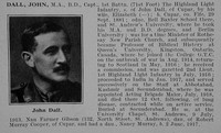 Dall J Captain 1st Highland Light Infantry Obit De Ruvignys Roll Of Honour Vol 5
