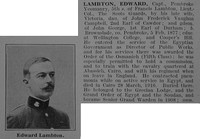 Lambton E Captain Pembroke Yeomanry Obit De Ruvignys Roll Of Honour Vol 3