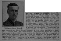 Young W S Lt Royal Engineers Obit Part 1 De Ruvignys Roll Of Honour Vol 5