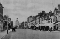 High Street Lymington 1920s