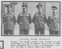Hall W CSM Royal Inniskilling Fusiliers The Graphic 2nd Oct 1918