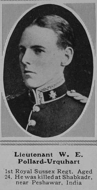 UK Photo Archive: P &emdash; Pollard-Urquhart W E Lt 1st Royal Sussex Regiment The Sphere 19th Jun 1915