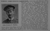 Darley J E C Lt Col 4th (Queen's Own) Hussars Obit Part 1De Ruvignys Roll Of Honour Vol  5