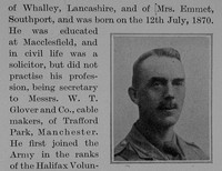 Baddeley E L Major 8th Lancashire Fusiliers Obit Part 2 The Bond Of Sacrifice Vol 2