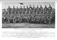 Cameron Highlanders 8th Battalion Officers Photo 1