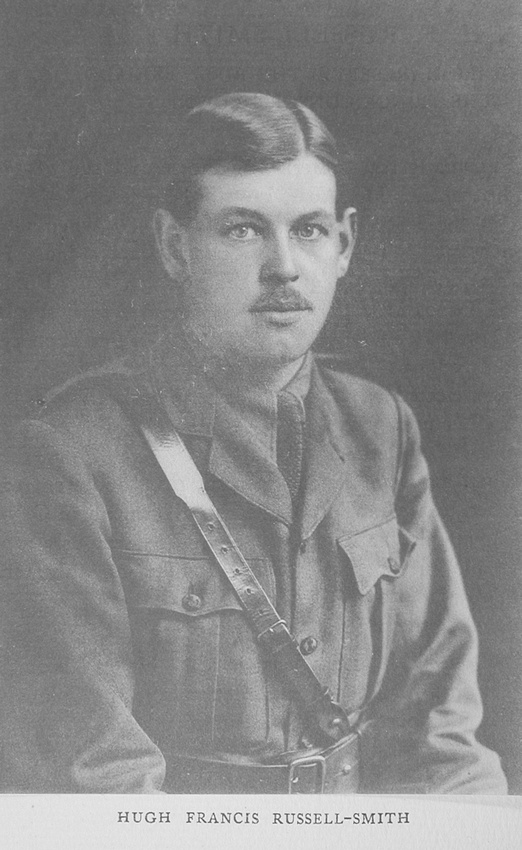 UK Photo Archive: Rugby Roll Of Honour Vol 3 1914-1918 &emdash; Russell-Smith H F Captain 6th Rifle Brigade