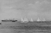 Yachts On The Solent 1920s