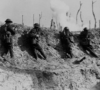 In The Firing Line At Passchendaele