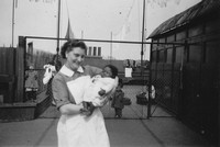 On The Roof Of Kingsway Creche 1950s