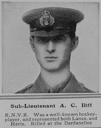 UK Photo Archive: I &emdash; Iliff A C Sub Lt Nelson Btn Royal Naval Volunteer Reserve The Sphere 11th Mar 1916