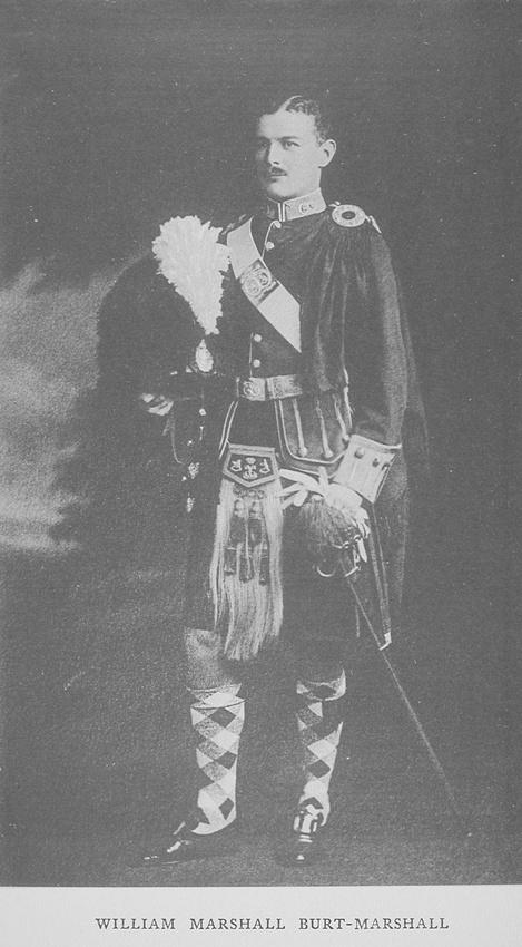 UK Photo Archive: Rugby Roll Of Honour Vol 1 1914-1918 &emdash; Burt-Marshall W M Captain Argyll Sutherland Highlanders