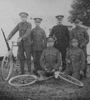 Soldiers Army Cyclist Corps