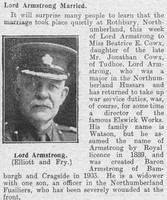 Armstrong W H A F W Major Northumberland Hussars The Graphic 2nd Sep 1916