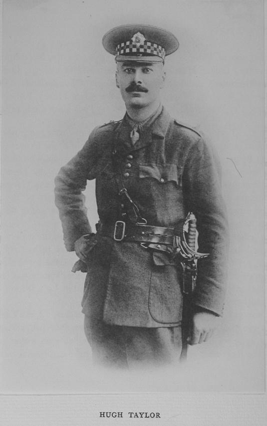 UK Photo Archive: Harrow Memorials Of The Great War Vol 1 1914-1918 Vol 1 Portraits &emdash; Taylor H Captain Scots Guards