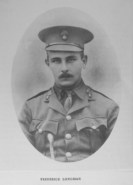 UK Photo Archive: Harrow Memorials Of The Great War Vol 1 1914-1918 Vol 1 Portraits &emdash; Longman F Lt Royal Fusiliers
