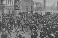 The London Scottish Arriving Back From France In London 16th May 1919