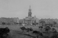 Birkenhead Town Hall And Gardens c.1900